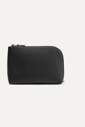 The Row Textured-leather Pouch - Black