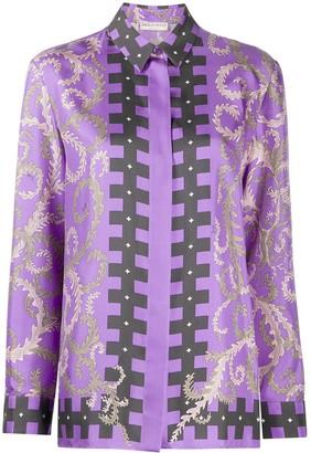 Emilio Pucci x KOCHE high-neck shirt