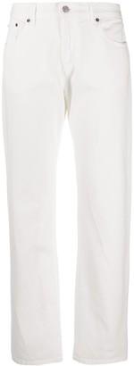 MM6 MAISON MARGIELA Mid-Rise Straight Leg Jeans