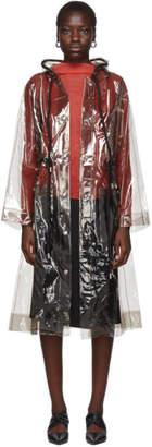Proenza Schouler Black PSWL Transparent Raincoat