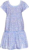 Thierry Colson Paola porcelain-print tiered dress