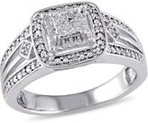 Julie Leah 1/5 CT TW Diamond Sterling Silver Fashion Ring