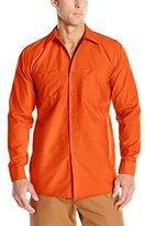 Wolverine Red Kap Men's Long-Sleeve Industrial Work Shirt