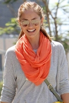 FashionABLE Meselu Infinity Scarf in Tangerine