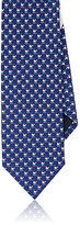 Salvatore Ferragamo Men's Whale-Print Silk Necktie