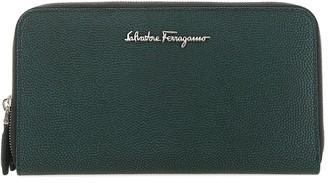 Salvatore Ferragamo Logo Continental Wallet