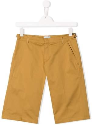 Lanvin Enfant TEEN slim-fit shorts