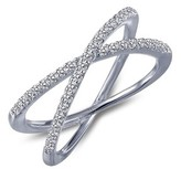 Lafonn Women's Classic Crossover Ring