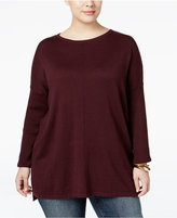 Style&Co. Style & Co. Plus Size Boat-Neck Sweater, Only at Macy's