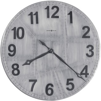 Howard Miller Aviator Rustic, Transitional, Vintage, and Industrial Style Gallery Wall Clock, Reloj De Pared