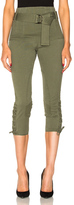 Marissa Webb Hewitt Pant in Green.