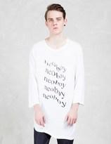 Undercover Melting Effect L/S Pocket T-Shirt