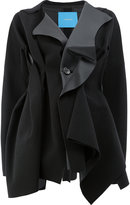 Undercover gathered detail coat