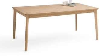 La Redoute Interieurs Pull Extendable Oak Dining Table (Seats 6-10)