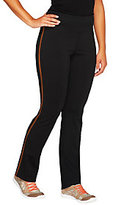 Denim & Co. As Is Active Duo- Stretch Straight Leg Pants