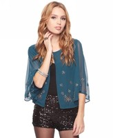 Sheer Beaded Jacket