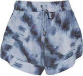IRO Odilon printed silk shorts