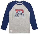 Ralph Lauren Childrenswear Cotton Baseball T-Shirt