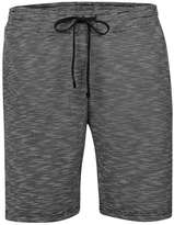 Topman Grey Space Dye Jersey Shorts