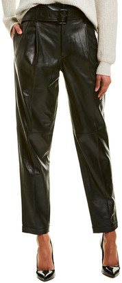 Polo Ralph Lauren Leather Straight Pant