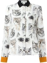 Stella McCartney 'Wilson' cat print shirt