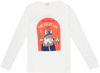 Bonpoint Printed cotton T-shirt
