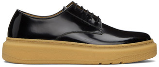 Paul Smith Black Gum Sole Derbys