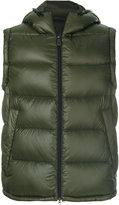 Peuterey hooded puffer vest