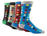 Red Herring Pack Of Four Black Spotted Socks