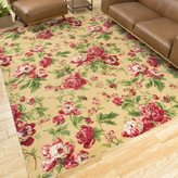 Waverly Artisanal Delight Forever Yours Buttercup Area Rug by Nourison (2'6 x 4')