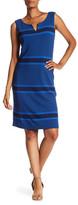 Lafayette 148 New York Split Neck Dress