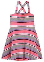 Toobydoo Eve Striped Skater Dress (Toddler, Little Girls, & Big Girls)