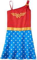 Intimo Girls 4-12 DC Comics Wonder Woman One-Shoulder Nightgown
