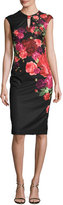 Ted Baker Mirrie Floral-Print Sheath Dress