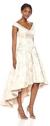 Brinker & Eliza Women's Floral High-Low Gown