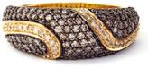 EFFY COLLECTION 14 Kt. Yellow Gold Cognac Diamond Ring, 1.01CTW