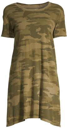 Current/Elliott Camouflage T-Shirt Dress