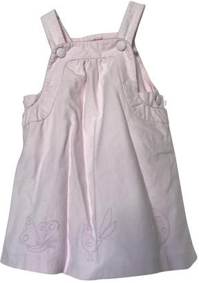 Cacharel Pink Cotton Dresses