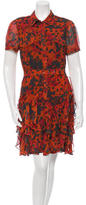 Rachel Zoe Printed Silk Dress