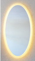 RO Range Oval Backlit Mirror without Border