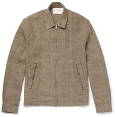 Our Legacy - Houndstooth Linen-Tweed Blouson Jacket