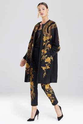 Natori Embroidered Felted Wool Dragon Jacket