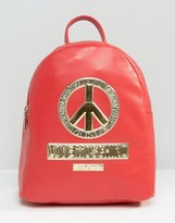 Love Moschino Peace Backpack