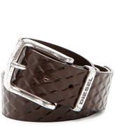 Diesel Bratemo Embossed Leather Belt