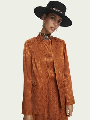 Scotch & Soda Paisley print blazer   Women