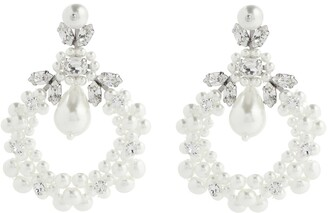 Simone Rocha Cameo embellished earrings