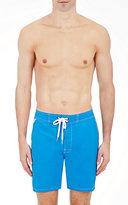 Sundek Men's Solid Swim Trunks-Blue