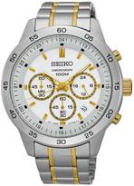 Seiko Men&s Quartz Chronograph Watch