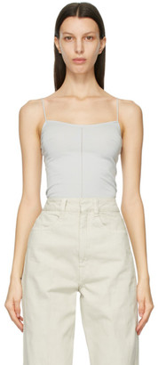 Lemaire Grey Second Skin Tank Top