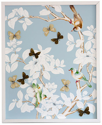 Dawn Wolfe Design Dawn Wolfe - Dimensional Chinoiserie: Pale Blue